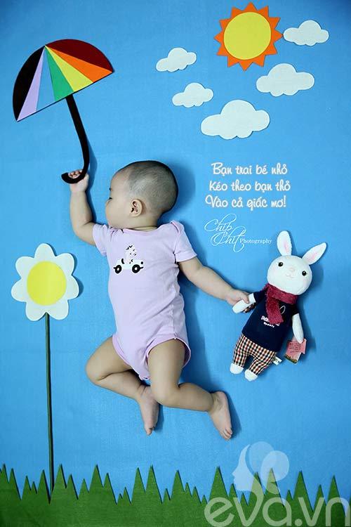 """Đẹp ngỡ ngàng bộ ảnh """"Bay vào giấc mơ con yêu"""" của mẹ Việt-5"""