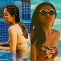 Làng sao - Văn Mai Hương diện bikini khoe vòng 1 nhỏ xinh