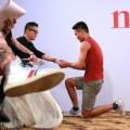 Thời trang - VNTM 2014: Thí sinh nam bất ngờ cầu hôn giám khảo