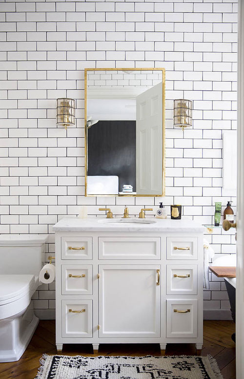 13 giải pháp 'cực đỉnh' cho phòng tắm nhỏ-1