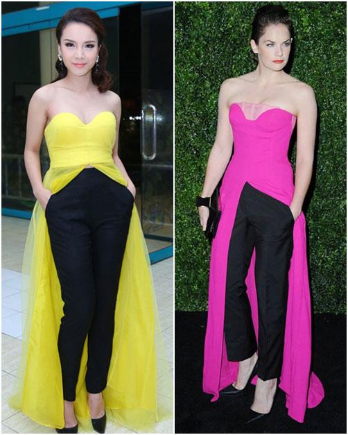 """Yến Trang đẳng cấp với váy """"nhái"""" Dior-2"""