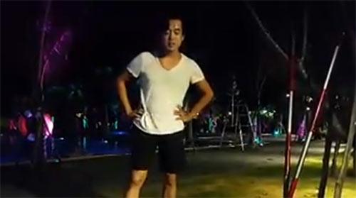 """ha ho: """"se hen neu khong choi ice bucket challenge"""" - 1"""