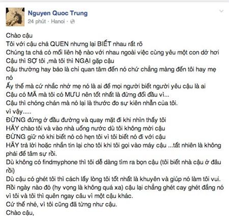 """thanh lam noi gi viec quoc trung """"ran de"""" con re tuong lai? - 1"""
