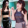 Thời trang - Phái đẹp Sài Gòn mặc đồ da rất sành điệu