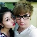 Làng sao - Lộ ảnh thân mật của Triệu Thị Hà và bạn trai Reno Bình