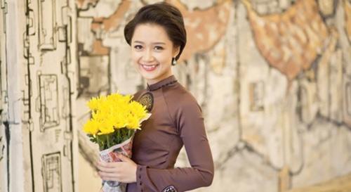 """mc thoi su vtv duoc phong """"top 10 hoa hau viet nam"""" - 13"""