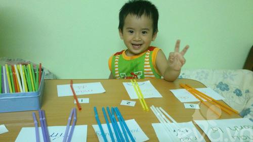 Bí quyết mẹ Việt dạy con 2 tuổi đọc thông thạo-1