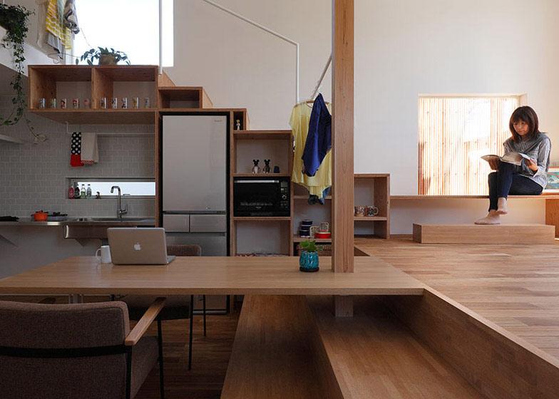 Học hỏi thiết kế căn hộ kết hợp quán cafe-10