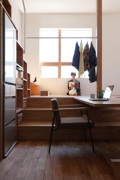 Học hỏi thiết kế căn hộ kết hợp quán cafe-9