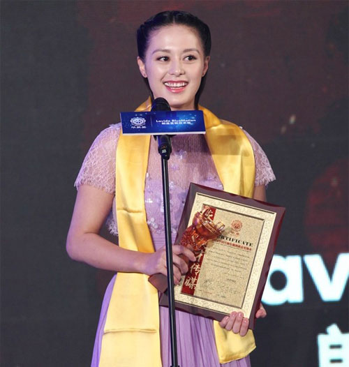 """Đồng Lệ Á """"thắng đậm"""" tại Lễ trao giải Hoa Đỉnh - 8"""