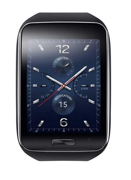 Samsung ra mắt smartwatch Gear S màn hình cong, có 3G-1