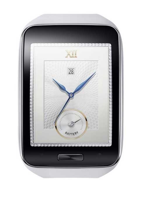 Samsung ra mắt smartwatch Gear S màn hình cong, có 3G-5