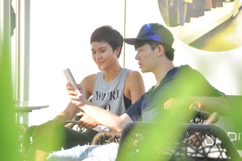 """Nathan Lee - Phương Mai """"bụi bặm"""" hẹn hò từ sáng sớm-5"""