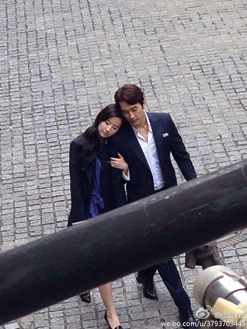 """Lộ ảnh Lưu Diệc Phi bên """"tình mới"""" Song Seung Hun-1"""