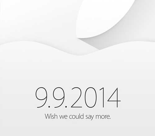 apple gui thu moi su kien ra mat iphone 6 ngay 9/9 - 1
