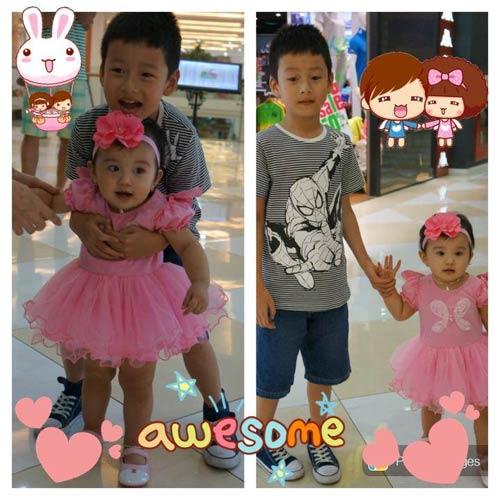 Ngắm vẻ đẹp 2 thiên thần nhỏ của Jennifer Phạm-3