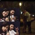 """Làng sao - Nụ hôn lãng mạn của con gái Quốc Trung gây """"sốt"""""""