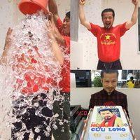 Hùng Cửu Long úp xô nước đá trong ngày sinh nhật