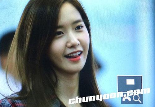 fan cuong snsd xep hang dai o san bay cho than tuong - 2