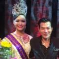 Làng sao - Trần Bảo Sơn trao vương miện cho Victoria Thuý Vy