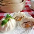 Bếp Eva - Cách làm bánh bao trứng vịt muối