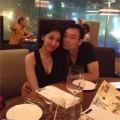 """Làng sao - Vợ chồng HH Thùy Lâm """"trốn con"""" đi hẹn hò"""