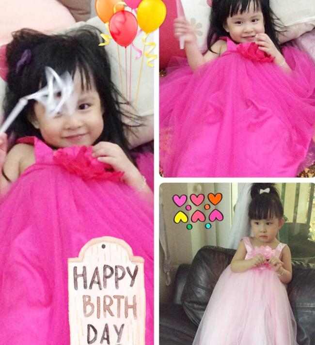 Cô con gái của MC Hoài Anh năm nay vừa tròn 3 tuổi. Bé có cái tên rất đáng yêu là Kỳ Uyên.