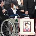 Làng sao - So Jung ngồi xe lăn đưa tiễn RiSe (Ladies' Code)