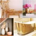Nhà đẹp - Dát vàng nội thất cho nhà đẹp lạ, kiêu sa