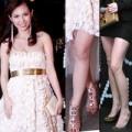 Thời trang - Sao Việt bầu bí vẫn lênh khênh giầy cao gót