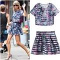 Thời trang - Taylor Swift diện váy 600 ngàn đồng vẫn đẳng cấp