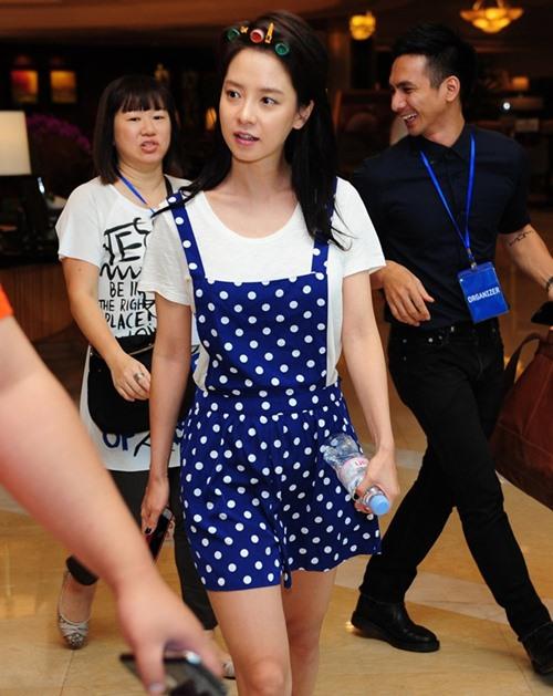 """my nam """"nhung nguoi thua ke"""" gian di ben song ji hyo - 3"""