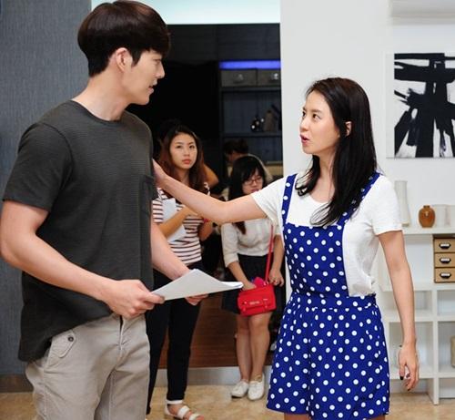 """my nam """"nhung nguoi thua ke"""" gian di ben song ji hyo - 7"""