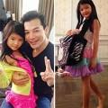 Làm mẹ - Ngắm cằm nhọn chân dài con gái Trần Bảo Sơn