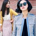 Thời trang - Mặc vải tweed đầu mùa đẹp như sao Hollywood