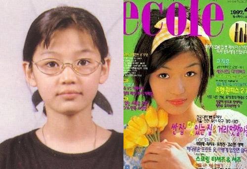 """jeon ji hyun: vuot qua 10 nam lam """"co nang ngo ngao"""" - 1"""