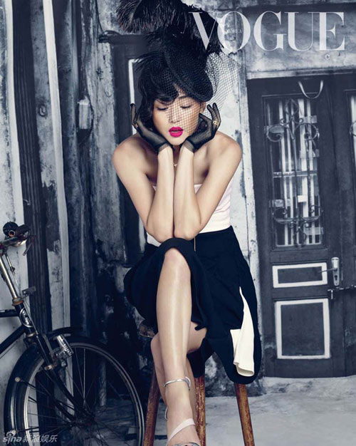"""jeon ji hyun: vuot qua 10 nam lam """"co nang ngo ngao"""" - 3"""