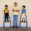 Tin tức - Đứa bé 5 tuổi cao nhất thế giới với 1,70m