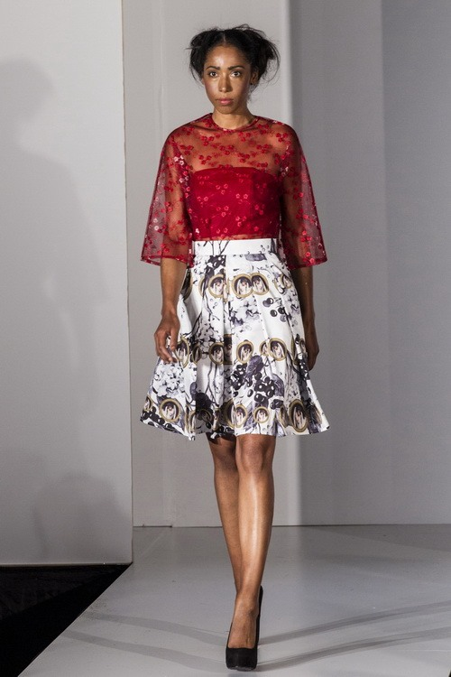 "thoi trang viet toa sang tren san ""london fashion week"" - 13"