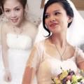 Thời trang - Váy cưới đặt may hút cô dâu Việt mùa bão giá
