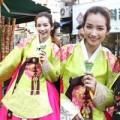 Làng sao - Trúc Diễm được khen ngợi khi mặc trang phục Hanbok