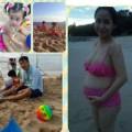 Làng sao - Ốc Thanh Vân mặc bikini vui đùa cùng chồng con