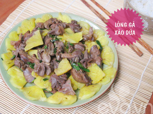 bua com ngon voi tom rang muoi, canh muop - 2
