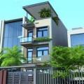 Nhà đẹp - Xây nhà phố 55m2 xinh xắn