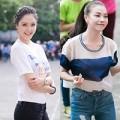 Làng sao - Á hậu Hoàng Anh, Trà Ngọc Hằng lập kỷ lục cùng giới trẻ HN