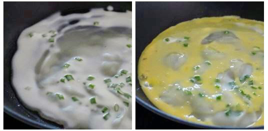 Thưởng thức bánh pancake trứng cuộn xúc xích dễ làm - 2