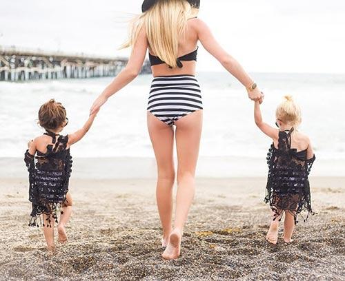 Gặp đôi bạn nhí 2 tuổi đang 'gây bão mạng' vì style cực chất-3