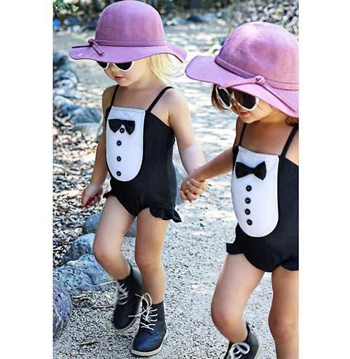 Gặp đôi bạn nhí 2 tuổi đang 'gây bão mạng' vì style cực chất-4