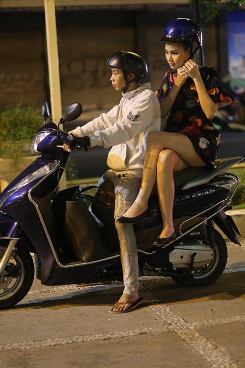 Nữ hoàng Trang sức Thanh Trúc đi xe ôm về sau sự kiện-10