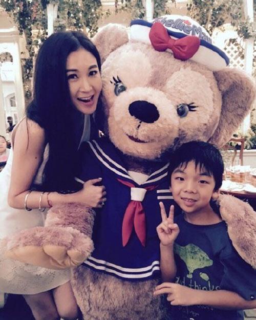 Kiều nữ TVB sống xa hoa khi làm vợ bé tỷ phú-5